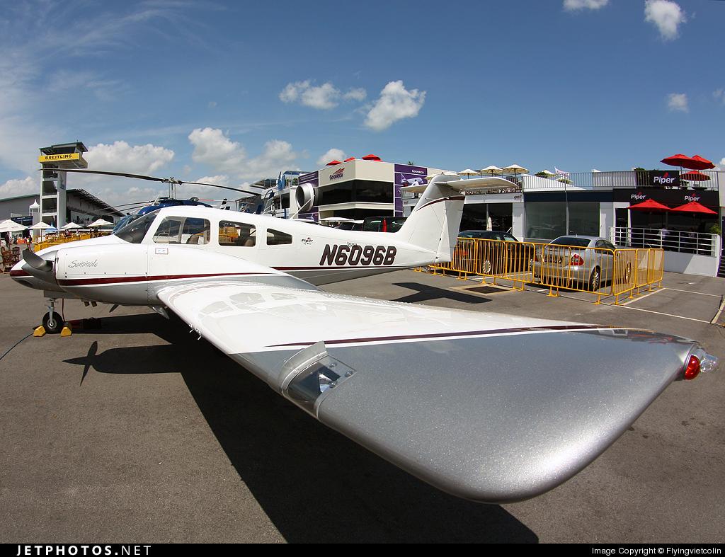 N6096B - Piper PA-44-180 Seminole - Piper Aircraft