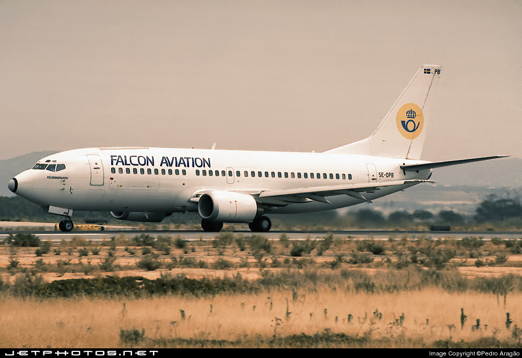 SE-DPB - Boeing 737-33A(QC) - Falcon Aviation