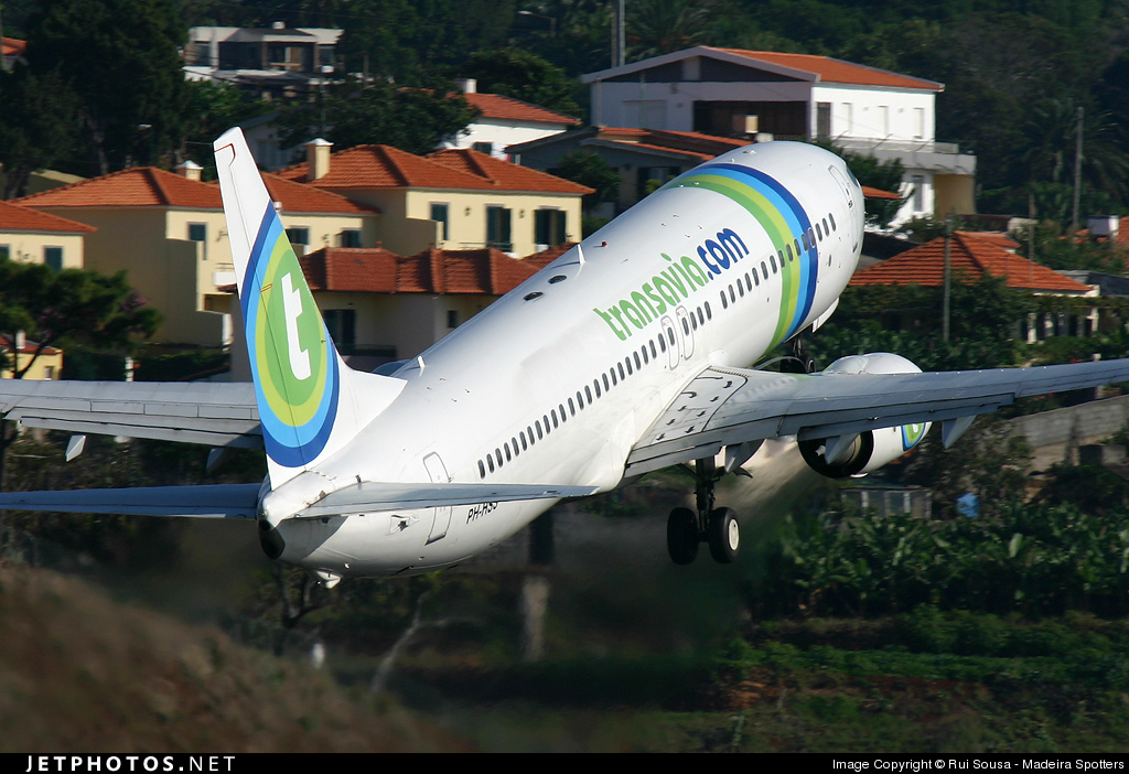 PH-HSS - Boeing 737-83N - Transavia Airlines