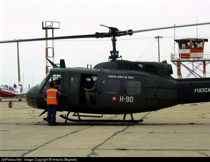 H-90 - Bell UH-1H Iroquois - Chile - Air Force