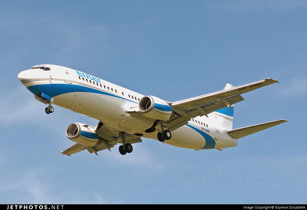 SP-ENB - Boeing 737-4Q8 - Enter Air