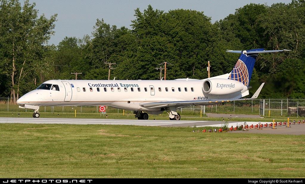 N14180 - Embraer ERJ-145XR - Continental Express (ExpressJet Airlines)