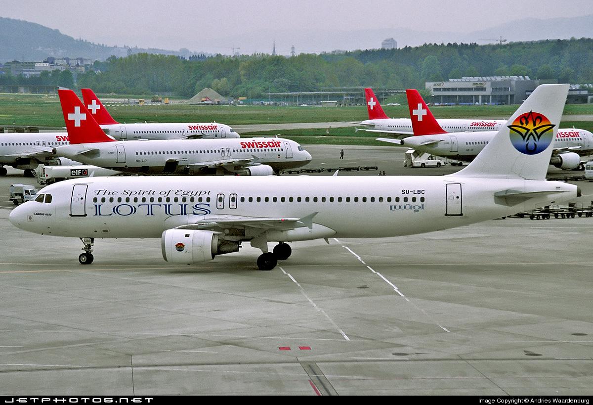 SU-LBC - Airbus A320-212 - Lotus Air