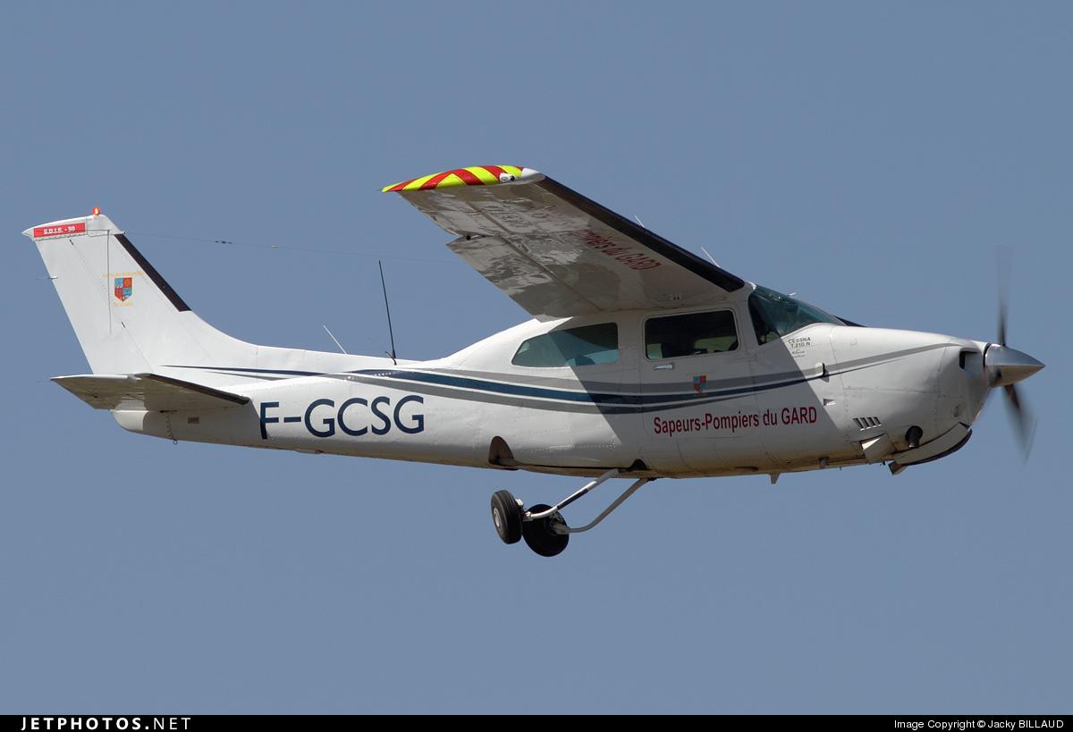 F-GCSG - Cessna T210N Turbo Centurion II - Private