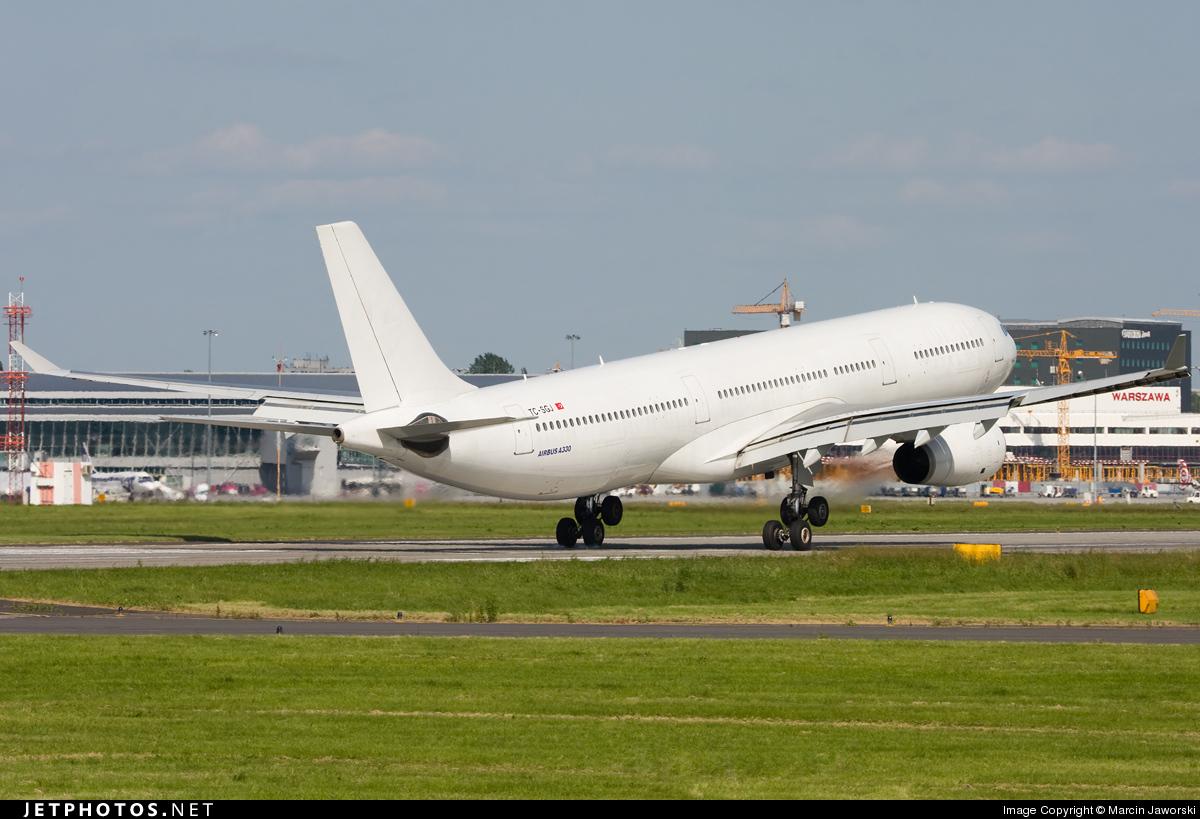 TC-SGJ - Airbus A330-343 - Turkish Airlines (Saga Airlines)