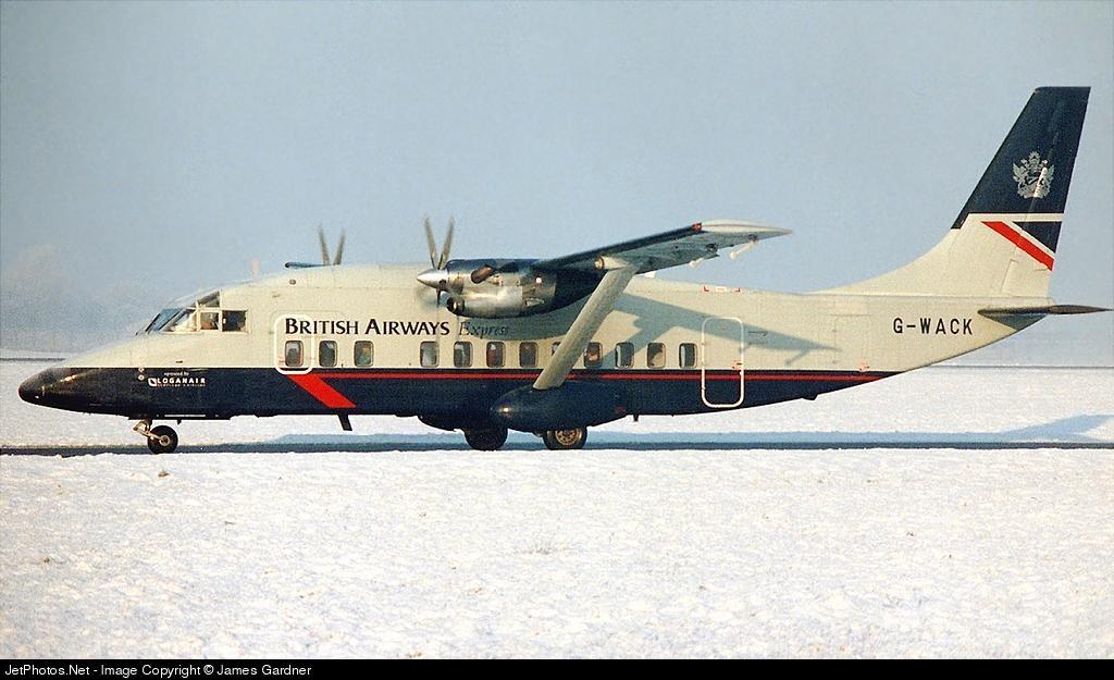 G-WACK - Short 360-100 - British Airways (Loganair)