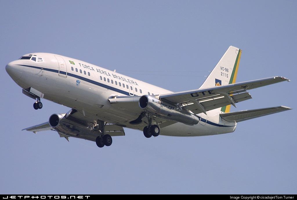 FAB2115 - Boeing VC-96 - Brazil - Air Force