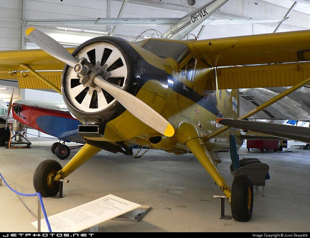 OH-MVL - De Havilland Canada DHC-2 Mk.I Beaver - Finland - Frontier Guard