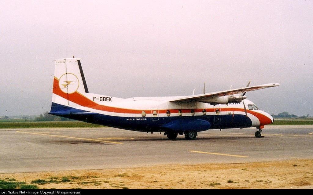 F-GBEK - Nord N-262A - Air Littoral