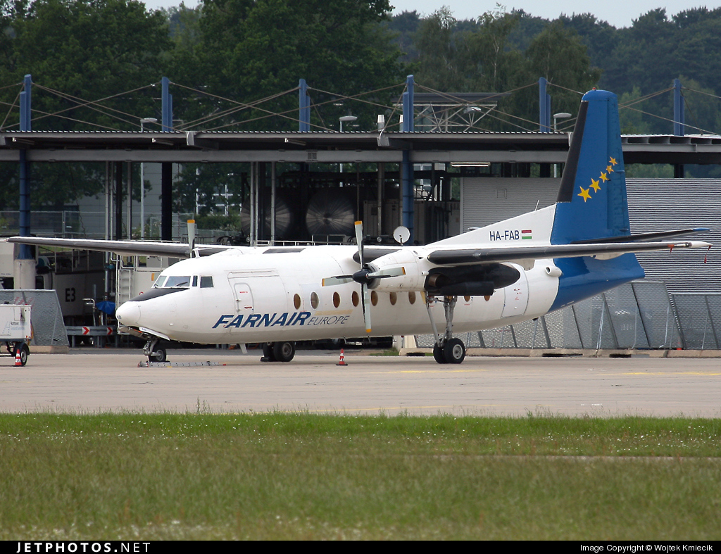 HA-FAB - Fokker F27-500 Friendship - Farnair Hungary
