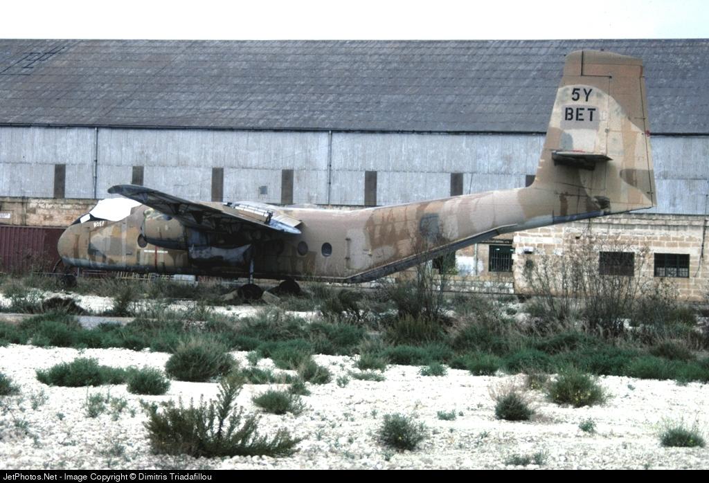 5Y-BET - De Havilland Canada DHC-4 Caribou - Unknown