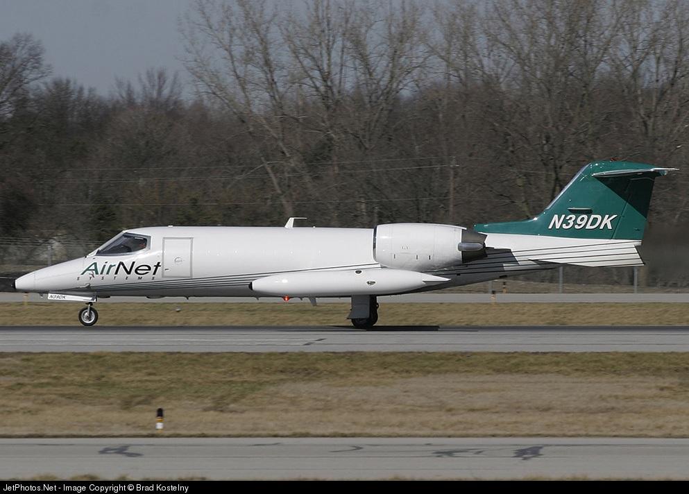 N39DK - Bombardier Learjet 35A - AirNet Systems