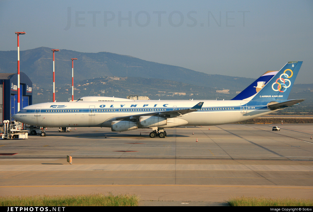SX-DFB - Airbus A340-313X - Olympic Airlines