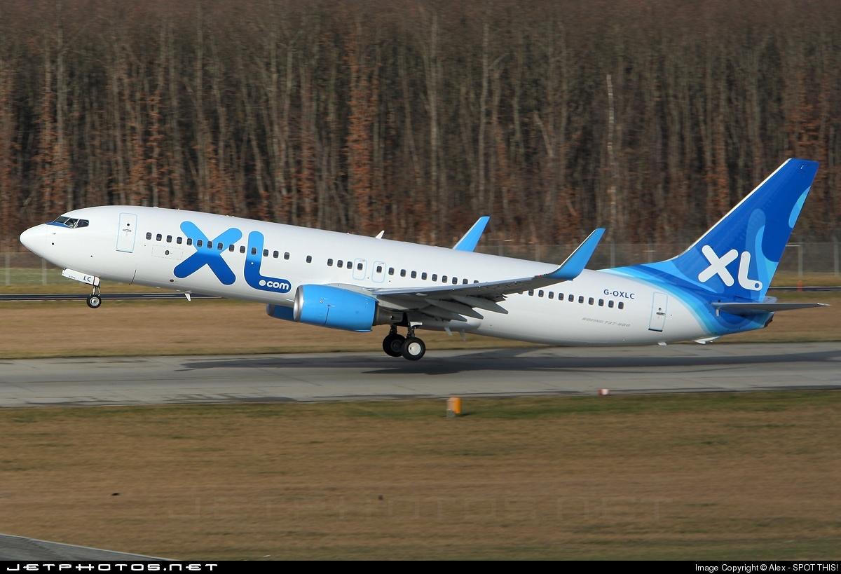 G-OXLC - Boeing 737-8BK - XL Airways