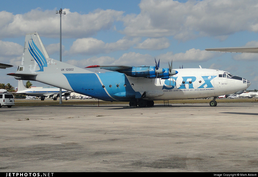 UK-12002 - Antonov An-12B - SRX (Avialeasing Aviation Company)