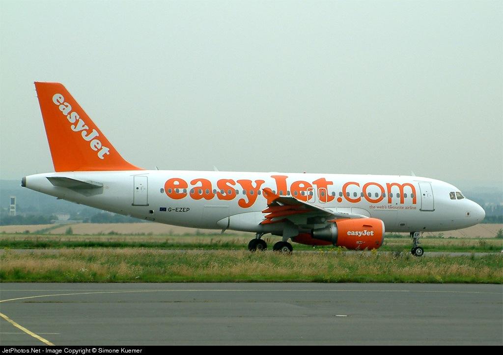 G-EZEP - Airbus A319-111 - easyJet