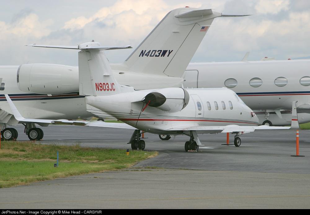 N903JC - Bombardier Learjet 55 - Private