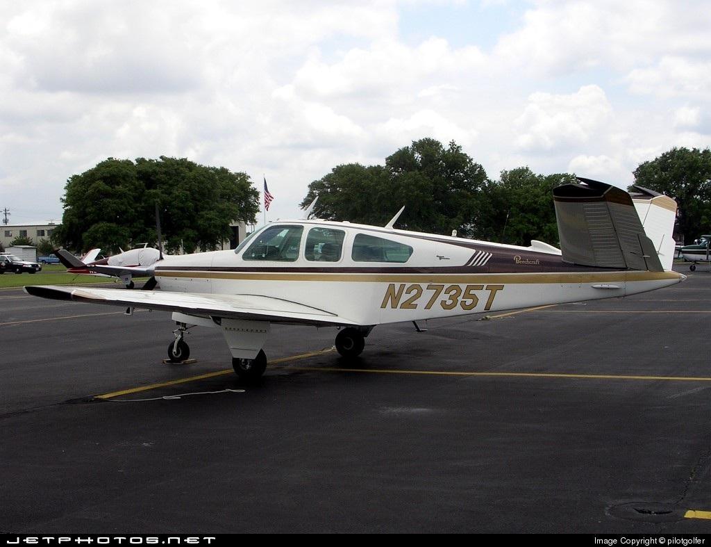 N2735T - Beechcraft V35 Bonanza - Private