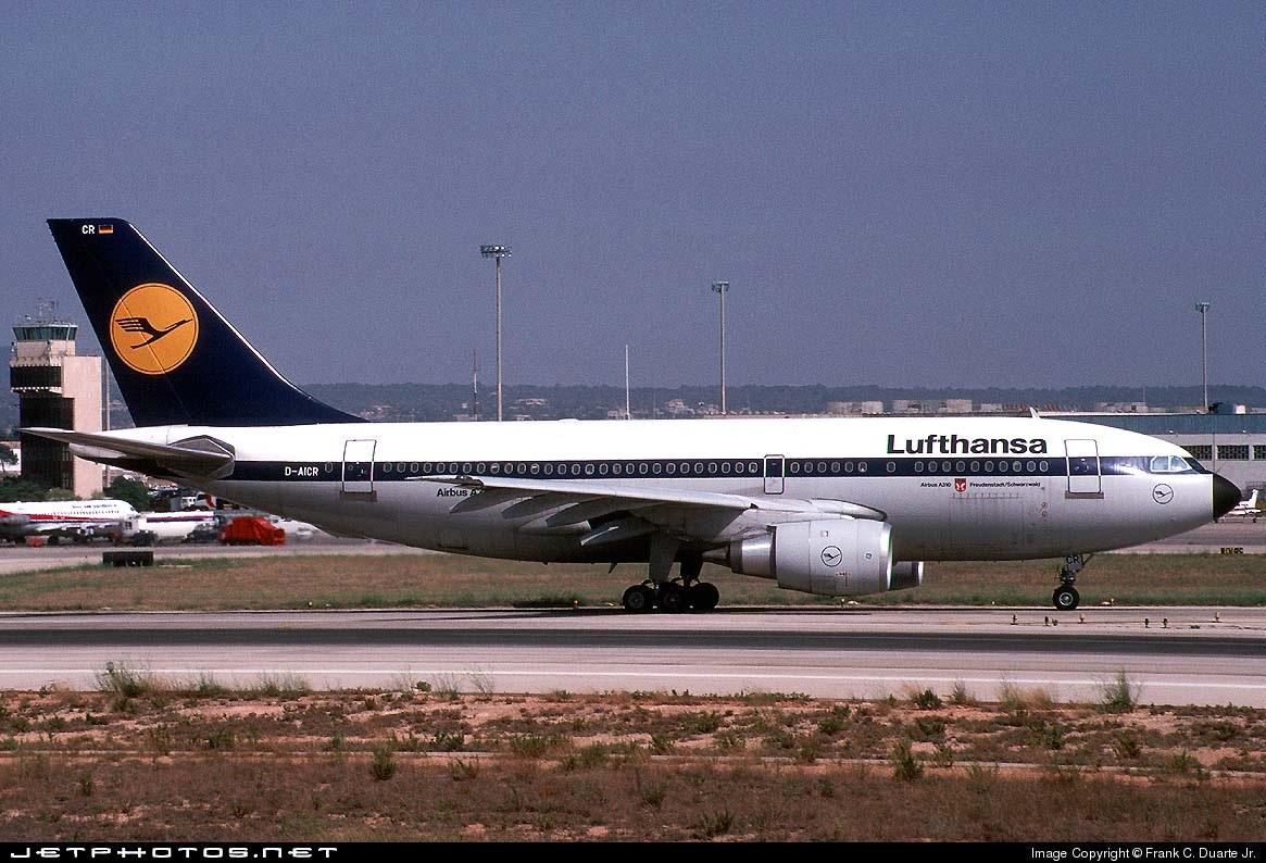 D-AICR - Airbus A310-203 - Lufthansa