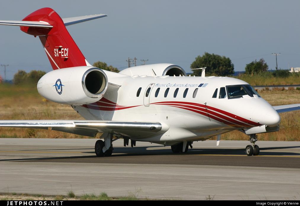 SX-ECI - Cessna 750 Citation X - Greece - Civil Aviation Authority