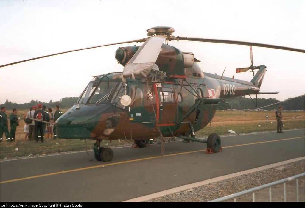0702 - PZL-Swidnik W3WA Sokol - Poland - Army