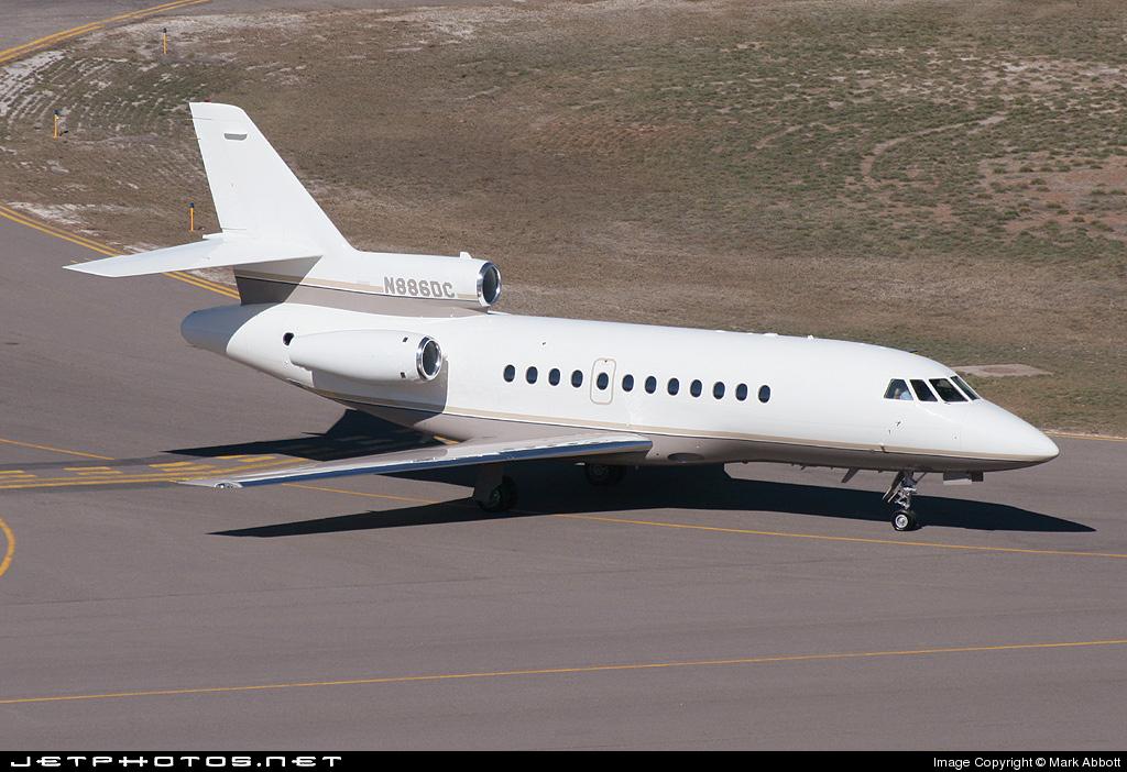 N886DC - Dassault Falcon 900B - Private