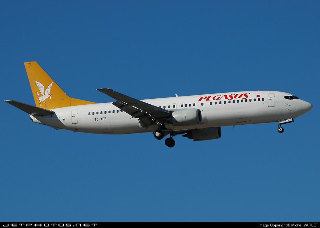 TC-APR - Boeing 737-4Y0 - Pegasus Airlines