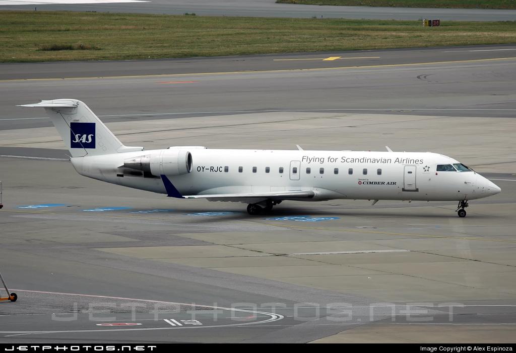 OY-RJC - Bombardier CRJ-100LR - Cimber Air