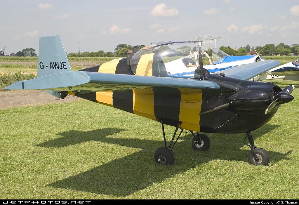G-AWJE - Slingsby T66 Nipper Mk.III - Private