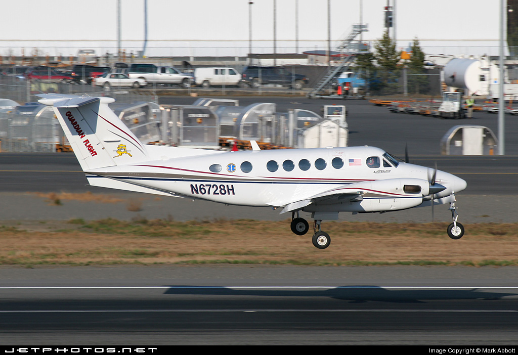 N6728H - Beechcraft B200 Super King Air - Guardian Flight