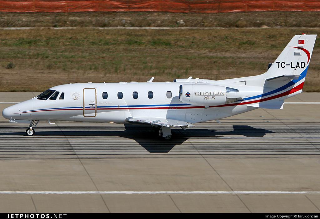 TC-LAD - Cessna 560XL Citation XLS - Turkey - State Airports Authority (DHMI)