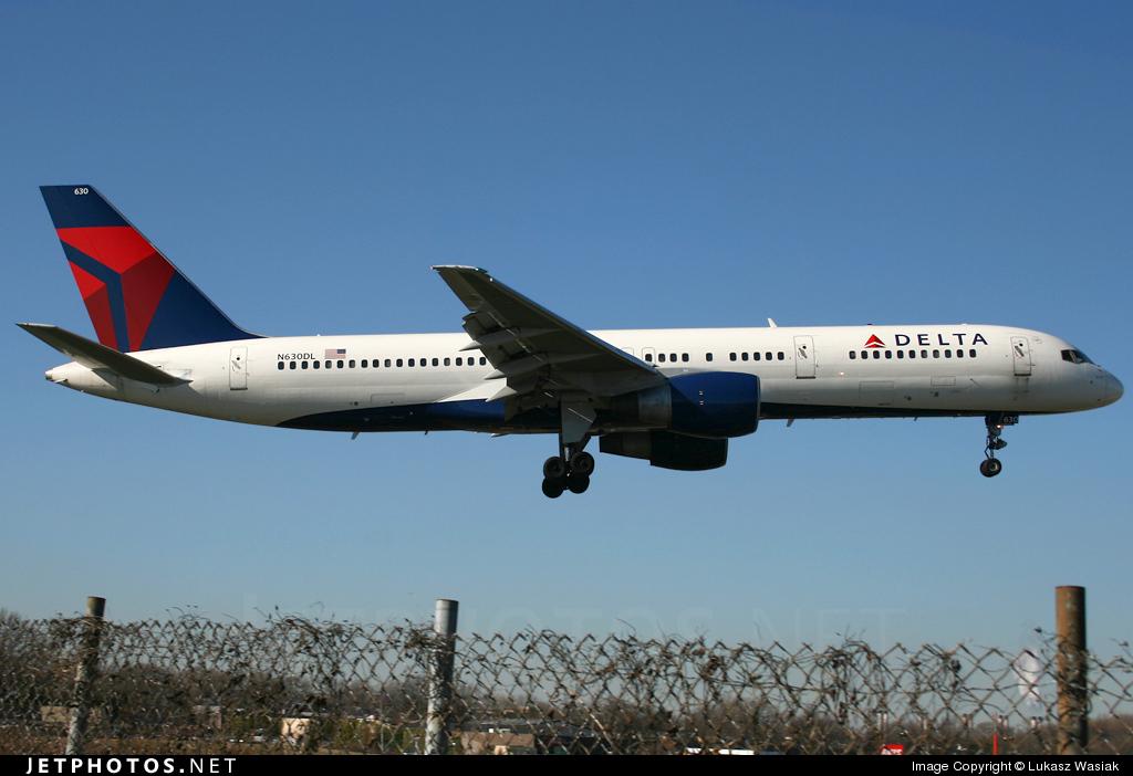 N630DL - Boeing 757-232 - Delta Air Lines