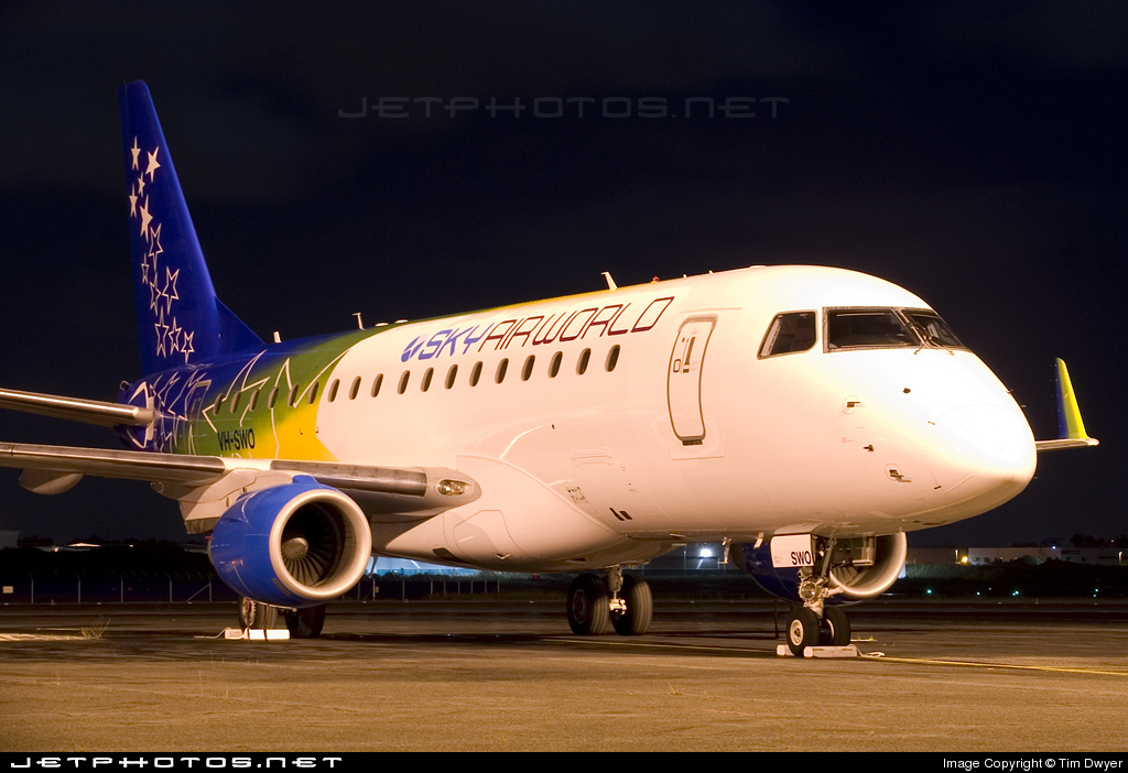 VH-SWO - Embraer 170-100LR - Solomon Airlines (SkyAirWorld)
