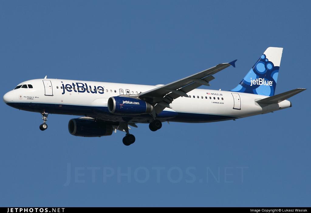 N562JB - Airbus A320-232 - jetBlue Airways