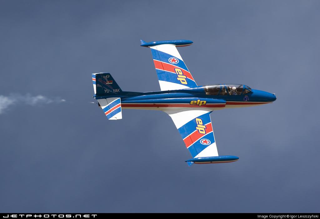 YU-YAK - Soko G-2A Galeb - Aero Club - Galeb