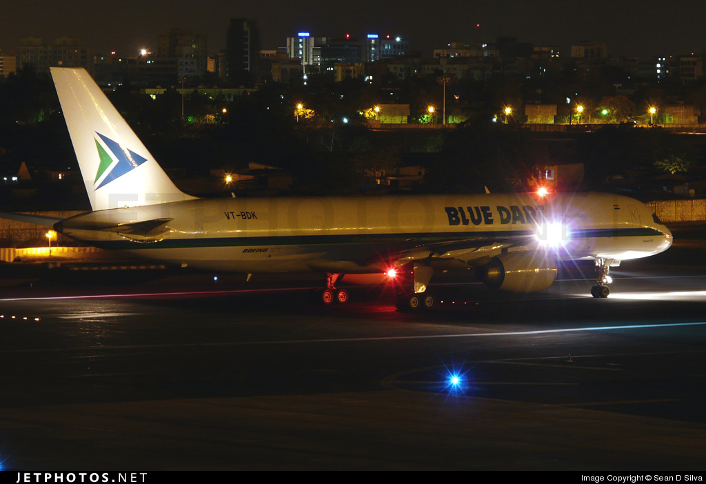 VT-BDK - Boeing 757-236(SF) - Blue Dart Aviation