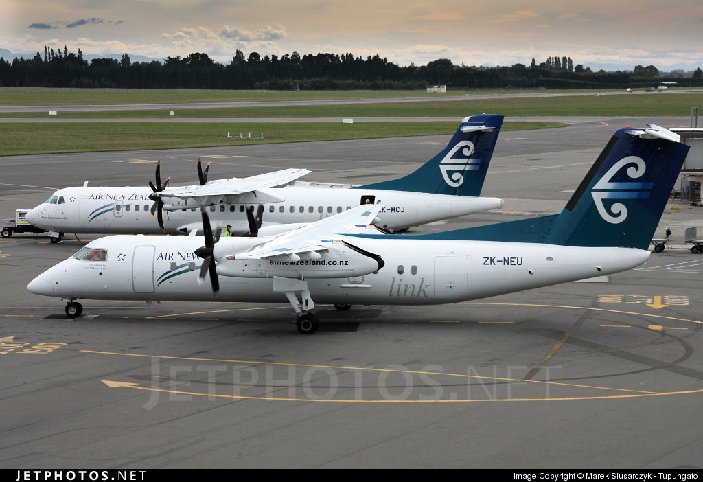 ZK-NEU - Bombardier Dash 8-Q311 - Air New Zealand Link (Air Nelson)