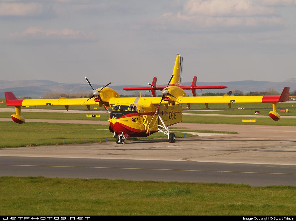 C-FQWA - Canadair CL-215 - Spain - Air Force