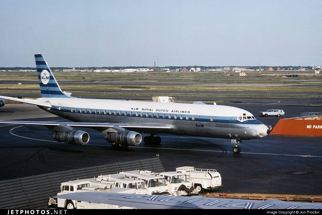 PH-DCT - Douglas DC-8-55(CF) - KLM Royal Dutch Airlines