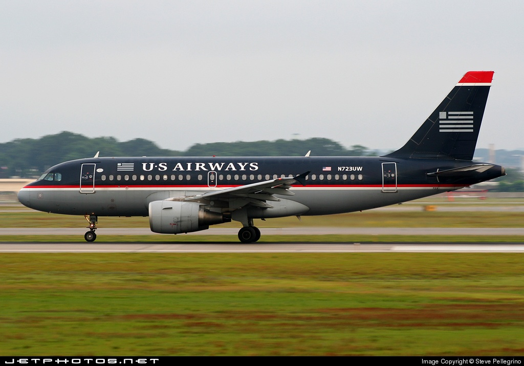 N723UW - Airbus A319-112 - US Airways