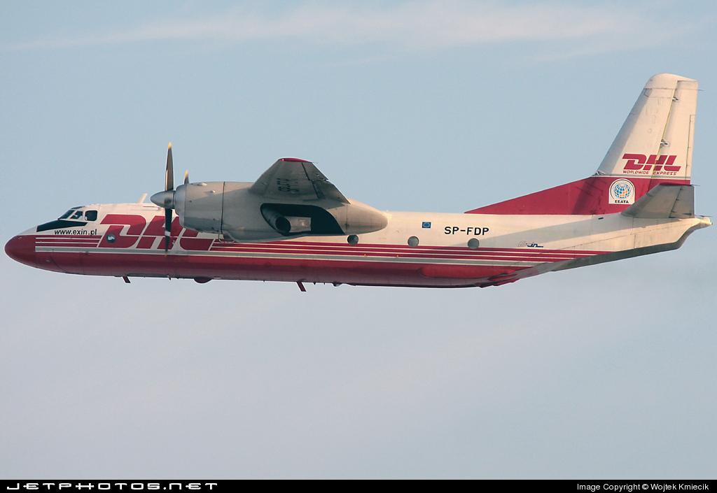 SP-FDP - Antonov An-26B - DHL (Exin)