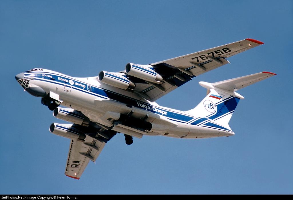 RA-76758 - Ilyushin IL-76TD - Volga Dnepr Airlines