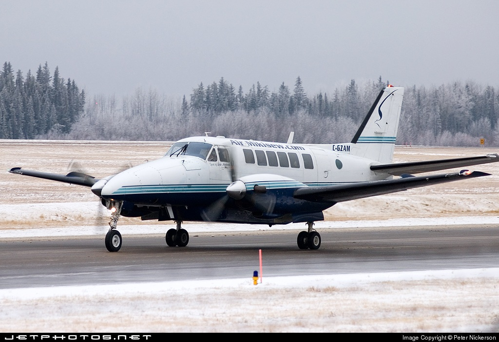 C-GZAM - Beech 99 Airliner - Air Mikisew