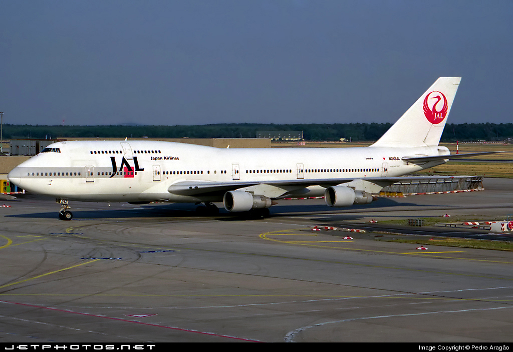 N212JL - Boeing 747-346 - Japan Airlines (JAL)