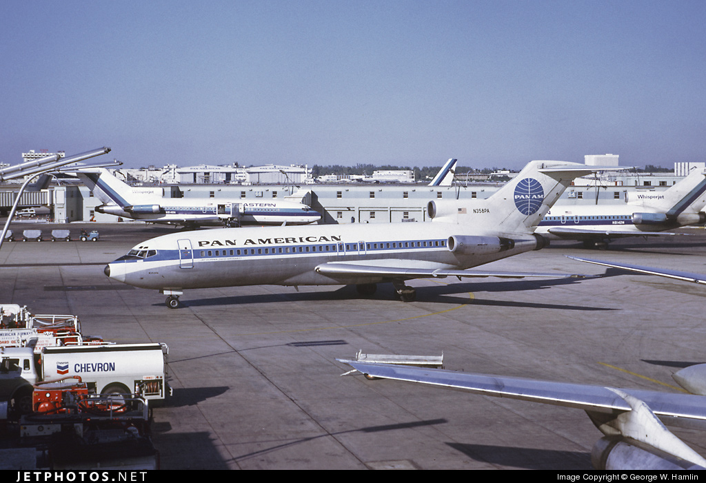 N358PA - Boeing 727-21 - Pan Am