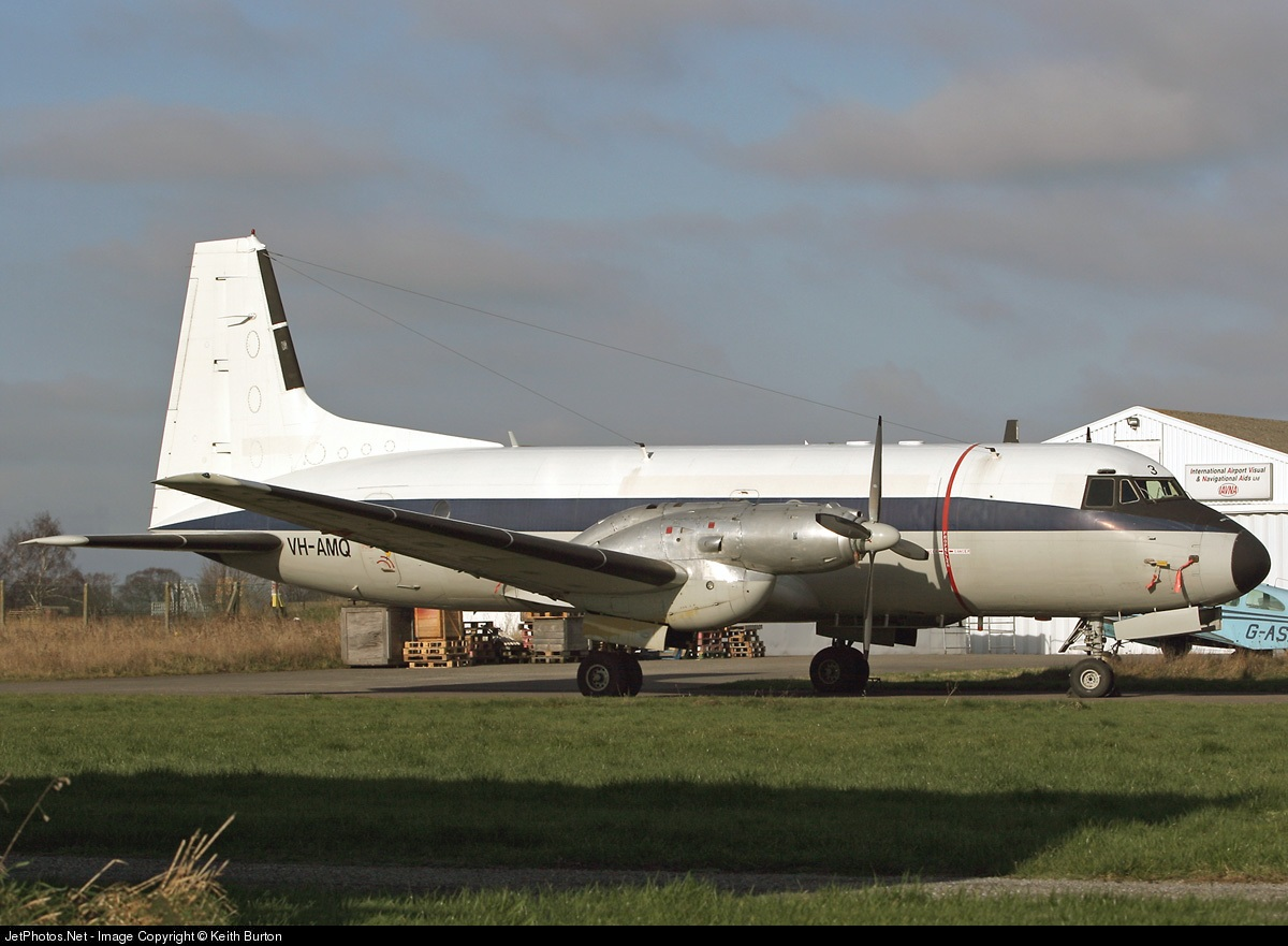 VH-AMQ - Hawker Siddeley HS-748 Series 2A - Private