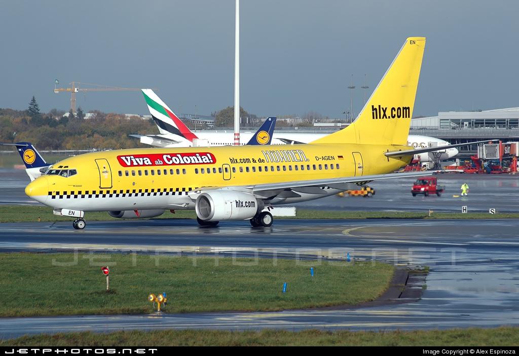 D-AGEN - Boeing 737-75B - Hapag-Lloyd Express (Germania)