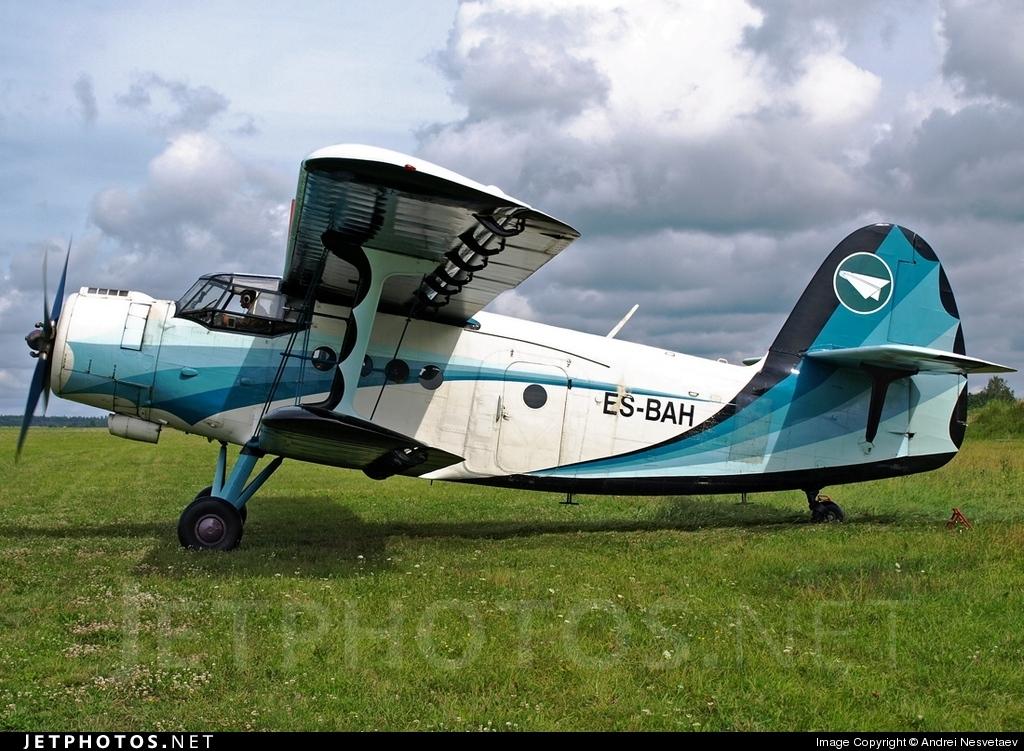 ES-BAH - Antonov An-2 - Private