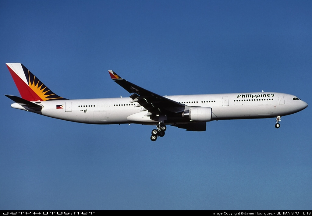 F-WWKR - Airbus A330-301 - Philippine Airlines