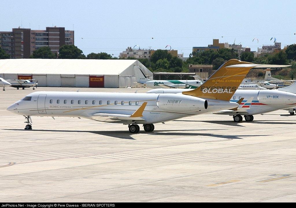 N18WY - Bombardier BD-700-1A10 Global Express - Westfield Aviation